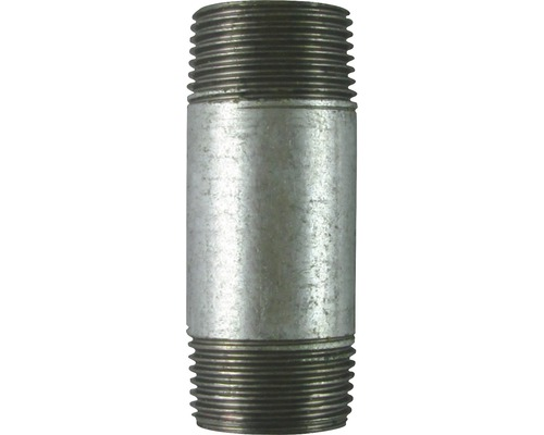 "Gebo Rohrnippel 1""x60 mm verzinkt"