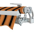Gelenkarmmarkise 350x250 cm SOLUNA Concept ohne Motor Dessin 6363