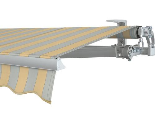 Gelenkarmmarkise 400x250 cm SOLUNA Concept ohne Motor Dessin 6676