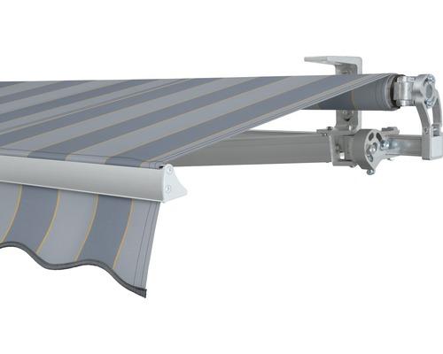 Gelenkarmmarkise 400x250 cm SOLUNA Concept mit Motor Dessin 7109