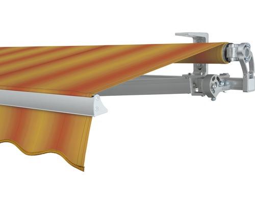 Gelenkarmmarkise 400x250 cm SOLUNA Concept mit Motor Dessin 320180