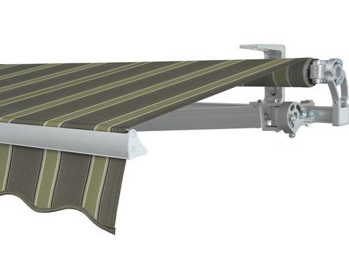 Gelenkarmmarkise 400x250 cm SOLUNA Concept mit Motor Dessin F042