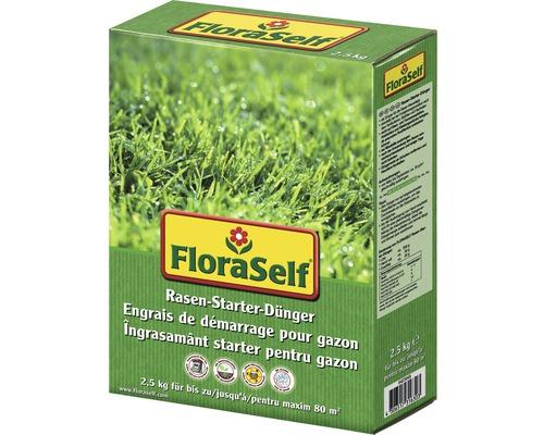 Rasen-Starterdünger FloraSelf 2,5 kg 80 m²