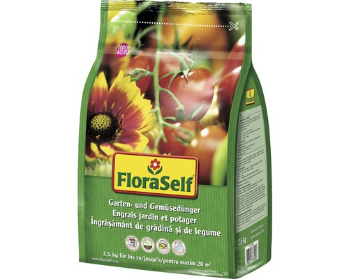 Gartendünger & Gemüsedünger FloraSelf 2,5 kg