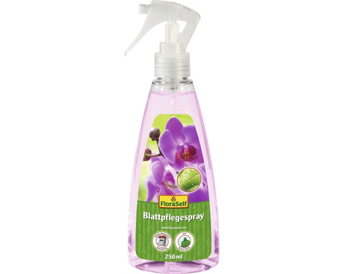 Orchideen-Blattpflegespray FloraSelf 250 ml