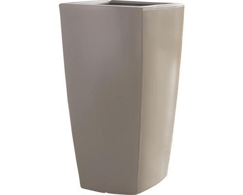 Pflanzkübel Degardo Trevia I Kunststoff 78x78x150 cm braun