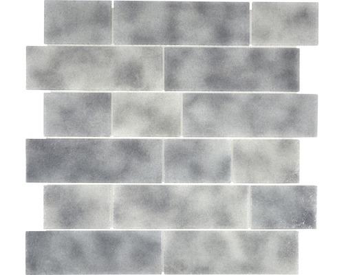 Glasmosaik LOFT 59LF 30x30 cm grau