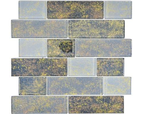 Glasmosaik LOFT 69LF 30x30 cm schwarz
