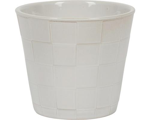 Blumentopf Malmo Keramik Ø 11 H 10 cm weiß
