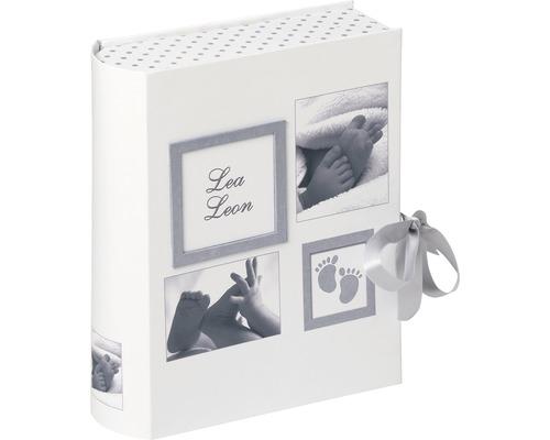 Foto Geschenkbox Baby Little Foot weiß 28,5x34x9 cm