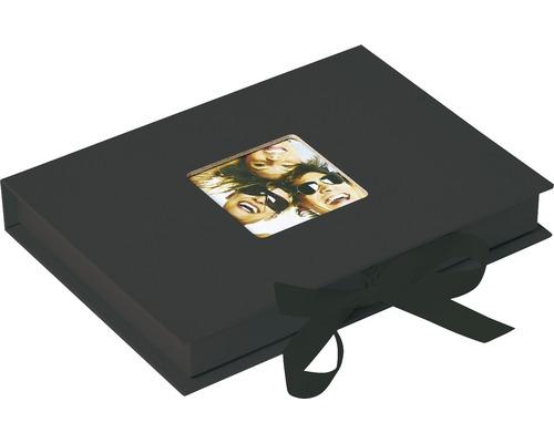 Aufbewahrungsbox Fun schwarz 20x15x3 cm