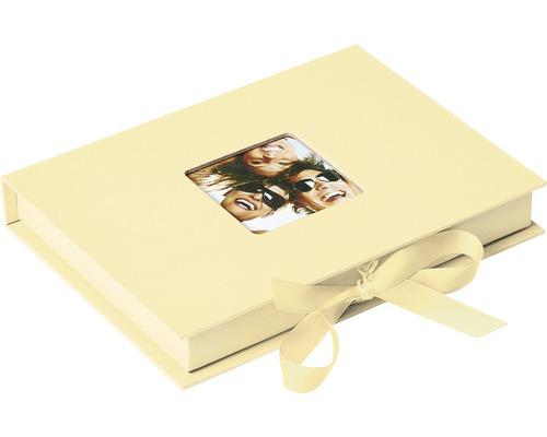 Aufbewahrungsbox Fun creme 20x15x3 cm