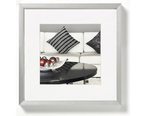 Bilderrahmen Aluminium Chair silber 30x30 cm