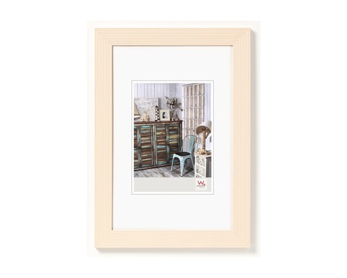Bilderrahmen Holz Grado creme 15x20 cm
