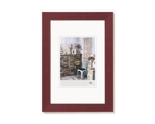 Bilderrahmen Holz Grado rot 30x40 cm