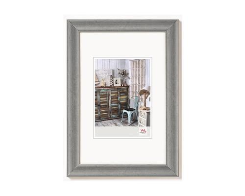 Bilderrahmen Holz Grado silber 40x50 cm
