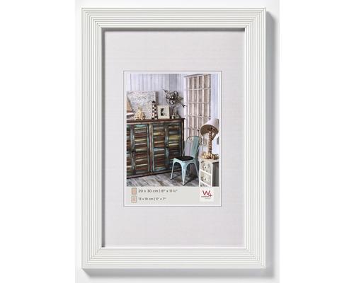 Bilderrahmen Holz Grado weiß 20x30 cm