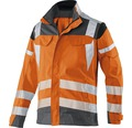Warnjacke orange/anthrazit Gr. 44