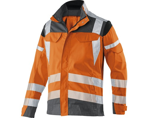 Warnjacke orange/anthrazit Gr. 114