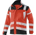 Warnjacke rot/anthrazit Gr. 50