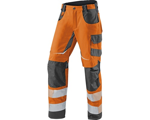 Bundhose Sommer orange/anthrazit Gr. 106