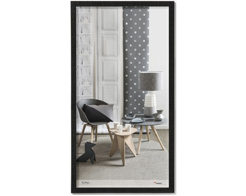 Bilderrahmen Holz Home schwarz 50x100 cm