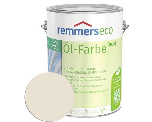 Remmers eco Öl-Farbe Holzfarbe RAL 9001 cremeweiß 750 ml