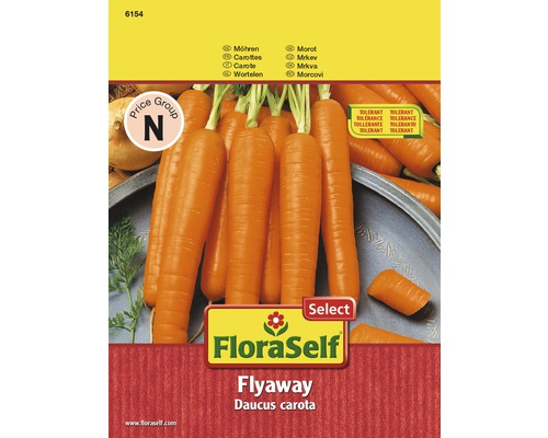Möhre 'Flyaway' FloraSelf Select Gemüsesamen