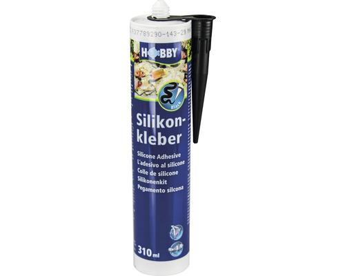 Silikonkleber HOBBY Kartusche 310 ml schwarz