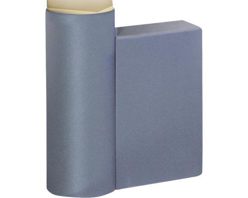 Wandkonsole Degardo für Lunocs silbergrau/metallic/matt 240x105x285 mm