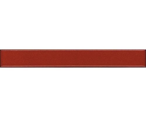Keramikbordüre rot 2,5x20 cm