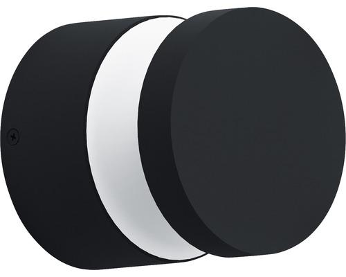 LED Wandleuchte 11W 950 lm 3000 K warmweiß Ø 135 mm Melzo schwarz