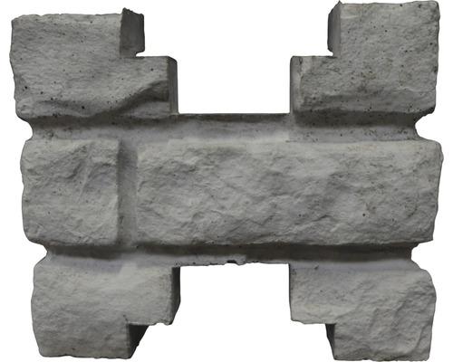 Pfostenkappe Mediterran Rockstone Zwischenkappe 20x20x10cm
