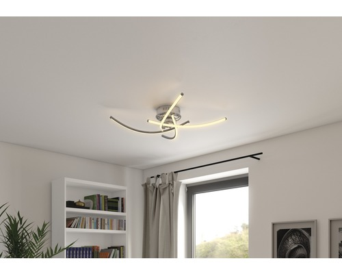 FLAIR Deckenlampe 27W 1100 lm 3000 K warmweiß Cardo Laura Vincentini Ø 880 mm