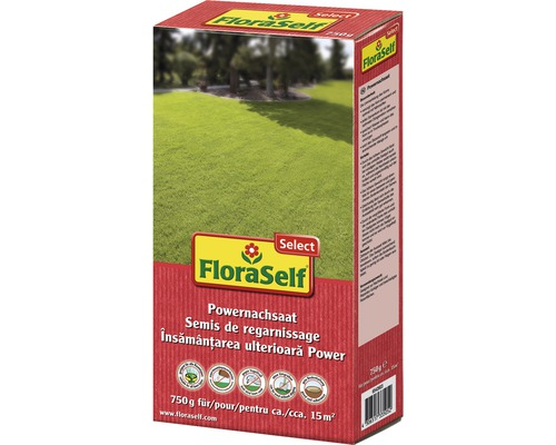 Powernachsaat-Rasensamen FloraSelf Select 750 g 15 m²