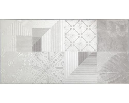 Steingut Wandfliese WOHNIDEE Torino Grau 30 x 60 cm