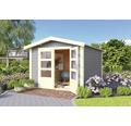 Gartenhaus Karibu She Shed Darling 4 mit Fußboden 244 x 304 cm terragrau