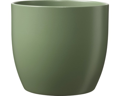 Blumentopf Soendgen Basel Fashion Keramik Ø 27 H 26 cm moosgrün