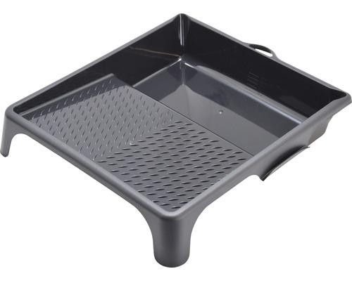 Farbwanne Kunststoff schwarz 34,5 x 37 cm