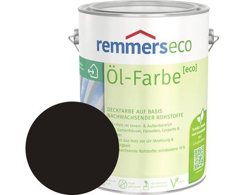 Remmers eco Öl-Farbe Holzfarbe tabakbraun 2,5 l