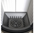 Wasserführender Kaminofen Hark Vito ECOplus Keramik schwarz 14 kW