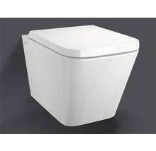 Jungborn Spülrandloses Wand-WC-Set Keona weiß mit WC-Sitz
