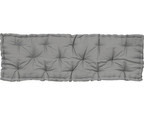 Sitzkissen Cotton grau 120x40 cm