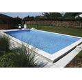 Styropor-Pool Luxus P30 800 x 400 cm, Tief 150 cm