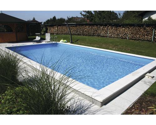 Styropor-Pool Luxus P30, 600 x 300 cm, Tief 150 cm