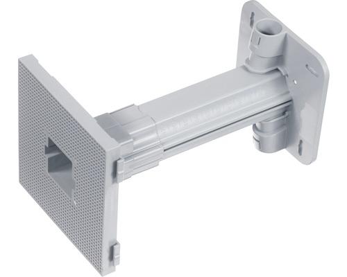 Kaiser Teleskop-Geräteträger Unterputz für Isolierstärken von 80-160 mm Befestigungsfläche für Geräte 110x110 mm