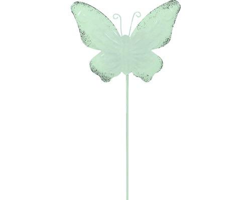 Dekostab Lafiora Metall Schmetterling H 30 cm grün