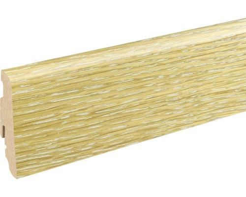 Sockelleiste Eiche lackiert SU60L 19x58x1200 mm