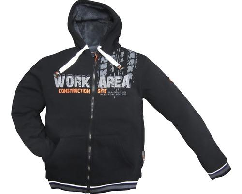TX Workwear Sweatjacke Gr. XXXL schwarz