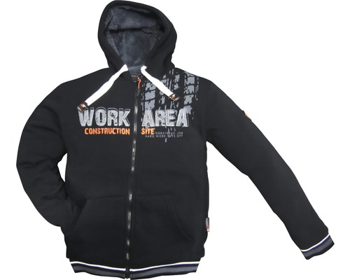 TX Workwear Sweatjacke Gr. XL schwarz